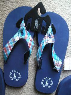 Ralph Lauren Polo Flip Flops