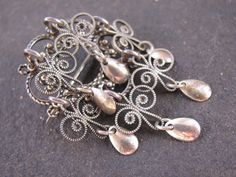 Vintage Solje Brooch - 830 Silver - Wedding Pin