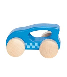 Little Auto Blue From Hape from The Wooden Toybox