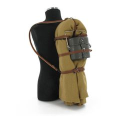 Bedroll pack with M1910 Mess kit