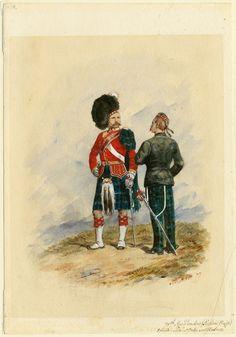 British Army Uniform, British Uniforms, Military Art, Military History, Military Uniforms, Edwardian Era, Victorian, Highlands Warrior, Highlanders