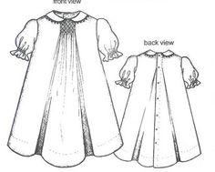 7 best little dress images tecido de fazenda vestidos de meninas Country Summer Dresses collars etc by trudy horne smocked baby day gown