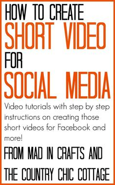 How to Create Short Video for Social Media