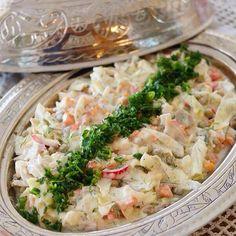 Labneli Karışık Salata