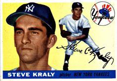 139 - Steve Kraly RC, UER - New York Yankees