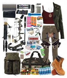 🔥 [DON'T MISS] => This Survival Prepping Simple For survival stories lesson plans appears to be 100 % superb, ought to keep this in mind when I have a little money in the bank .BTW talking about money. Is there more to life than shopping? Mode Apocalypse, Zombie Apocalypse Outfit, Apocalypse Fashion, Zombie Apocolypse, Zombie Apocalypse Survival Weapons, Zombies Survival, Survival Skills, Survival Stuff, Survival Quotes