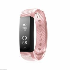 Description Are you looking for an intelligent health management economical smart bracelet? This item will be an excellent choice. It uses fashion process design and durable material, wearing comfortable. Built-in 50mAh Lithium-ion polymer rechargeable battery, it can be used about 7 to 10 days. Nice choice for your healthy life! Features - Color: Pink/Black/Purple/Dark Blue/Green. - Material: PC and TPU. - Size: Approx. 24 x 1.9 x 1.2cm/ 9.4 x 0.7 x 0.47 inch (LxWxH). - OLED display screen: 0.8 Smart Fitness Tracker, Fitness Tracker Bracelet, Camping Survival, Bluetooth, Bass Fishing, Bracelet Intelligent, Fitness Watches For Women, Dark Blue Green, Pink Black
