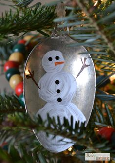 Vintage Spoon Ornaments! - All Things Heart and Home
