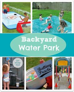 DIY Backyard Water Park