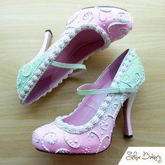 Оригинальные туфли в стиле десертов и сладостей - YouLoveIt.ru
