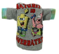 Jack Rocketwear Couture Vintage Sponge Bob Dog Shirt Outfit Stocking Stuffer - Mirranme