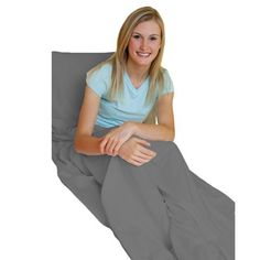 Amadora Luxury Double Brushed Microfiber Travel Sheet/Sleep Sack is amazingly useful and versatile, truly a must-have item for traveler. - 93 x 43 inches - Machine Washable - Space for your Pillow - L