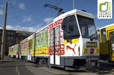 As a proud sponsor of African football, Puma joined forces with United for Africa to launch a charity awareness campaign for the 2006 World Cup in Germany. This customised tram travelled on a circular route around the centre of Berlin, host city of the World Cup final, and acted as a mobile Puma store, complete with specially designed merchandise and T-shirt printing service. A second car featured a DJ and life-size table football figures with interactive touch screen faces, providing…