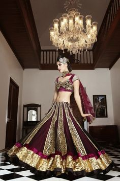 Fashion and Design: #35 Fashion and design Lehenga vs Saree