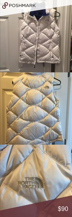 North Face puffer vest Like new condition. Super stylish and so cute. North Face Jackets & Coats Puffers