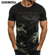 Mens Camo-Camouflage T Shirts in Mens Short Sleeve Camouflage Hole T Shirt.  Yesterday s 0913f15fd1