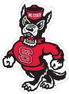 Image result for nc state logo wolf