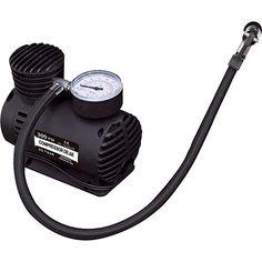 Sou Barato Compressor de Ar Naveg com 3 Bicos Adaptadores - Preto - R$26,99