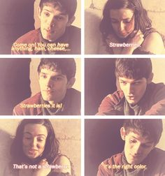 Pinning AGAIN because this is one of my favorite Merlin and Freya moments ^-^