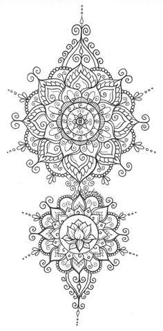 Lire un message - Orange mail - Mandala Art + Zentangles Mandala Art, Mandala Tattoo Design, Dotwork Tattoo Mandala, Henna Mandala, Mandalas Painting, Mandalas Drawing, Mandala Coloring Pages, Flower Mandala, Mandala Pattern