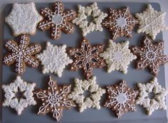 not the recipe - the designs...I'm pinning so next year I can find these designs...I'm design challenged - lol....make great cookies they just all look the same!