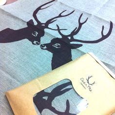 Deer Me Upholstery | Tea Towel www.hopeandme.com.au