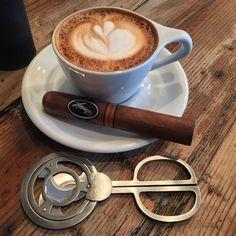 Good morning, good people. This is my favorite coffee and cigar pairing. #TailoredAsh #morningcoffeeandcigar #davidoffcigars #coffee #cigar