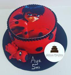 Wedding Cake Paris, Bolo Lady Bug, Paw Patrol Gifts, Miraculous Ladybug Party, Ladybug Cakes, Kawaii, Kids Room, Creations, Birthday Cake
