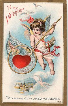 Vintage Valentine by HA! Designs - Artbyheather, via Flickr