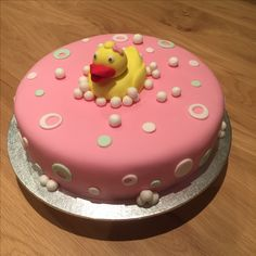 Babyshower 'duck' cake