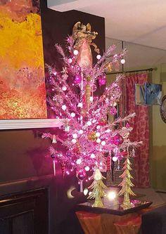 My wall hung Christmas tree
