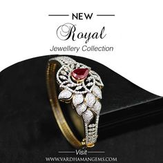 Celebrate the high-born in you. Wear Vardhaman Gems designer jewellery. Visit www.vardhamangems.com