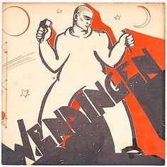WENDINGEN - Nummer 5 6 van de 12e serie 1931 gewijd aan beeldhouwwerk van Hildo Krop auteurs H C.Verkruysen A.M Hammacher Nederlandse tekst omslag ontworpen door Hildo Krop
