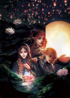 Maedhros, Fingon and Finrod