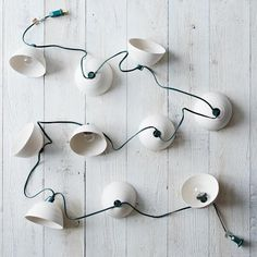 Pleated String Lights:  Use them anywhere for a festive feel. #food52