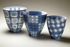 Mollie Bosworth porcelain with water soluble metal salts