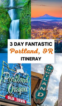 The perfect 3 day itinerary for Portland, Oregon for first time visitors! Here's everything you must do on your first visit. 3 days in Portland Oregon, what to do in Portland Oregon, Portland itinerary, top things to do in Portland Oregon, Oregon travel tips, Portland travel tips, Oregon itinerary, 3 days in Oregon, where to eat in Oregon, best things to do in Portland, Portland in 3 days, Oregon in 3 days, long weekend in Portland #Portland #Oregon Las Vegas Travel Guide, Las Vegas Trip, Weekend In Portland, Portland Oregon, Beautiful Places To Travel, Best Places To Travel, Oregon Travel, Usa Travel, Travel Guides