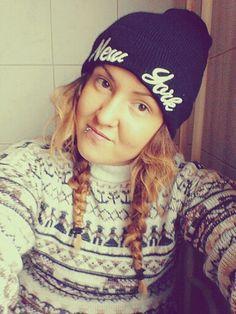 Style#Sweater#Cap#NY# <3 ;)