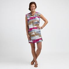 I could wear this dress in Puerto Rico. #TeaCollection