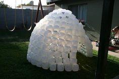 milk jug igloo
