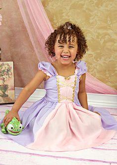 RAPUNZEL costume dress princess dressfor by loverdoversclothing