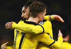 Stuttgart 1-3 Borussia Dortmund: Aubameyang stars as BVB progress to last four