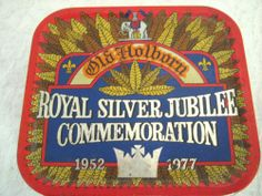 Vintage Queen Elizabeth II Commemorative Tin 1952-1977 Old Holborn Tobacco
