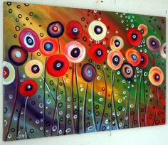 Sylvester Stallone's Life Story - Blumen ideen Dot Art Painting, Fabric Painting, Preschool Artist Theme, Birch Trees Painting, Grade 1 Art, Circle Art, Alcohol Ink Art, Oeuvre D'art, Art Lessons