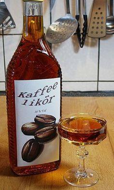 Kaffeelikör, ein tolles Rezept aus der Kategorie Schnell und einfach. Bewertungen: 5. Durchschnitt: Ø 3,6.