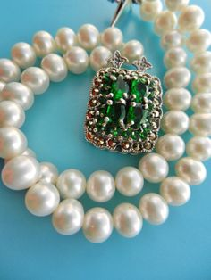 Spectacular 1960s 2-strands cultured pearls by RAKcreations