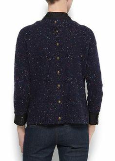 Buttons flecked jumper