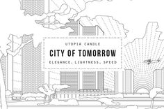 Utopia Candle: City of Tomorrow — The Dieline