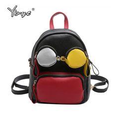 YBYT brand 2017 new personality women rucksack Multi-purpose satchel female  casual shoulder crossbody bag c023149ed7aeb