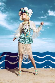 Bizarre Beach Editorials : Schon Magazine 'Cote d'Azur'